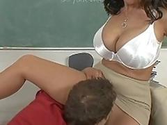 I drilled my big ass teacher