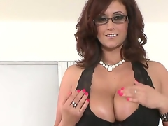 Busty and lascivious milf Eva Notty enjoys big cock in naughty hardcore POV session