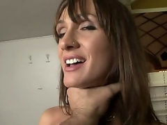 Steaming sexy milf with amazing jugs Cynthia Avalon is about to have a piece of Rocco Siffredi and this babe is expecting a really precious and sexy time.