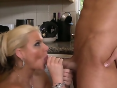 Damn sge is hot! Phoenix Marie - gorgeous and fucking ultra renowned blonde with big titties and awesome lengthy legs desire ta acquire fucking big dose of anal fuck right now and right here!
