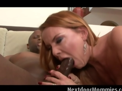 Blonde MILF acquires screwed at the next door