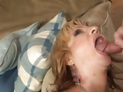Brittany Blaze acquires her face hole filled with thick cum