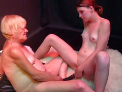 OldNanny Very old granny woman and juvenile horny girl