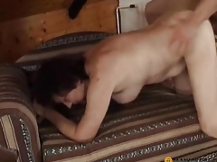 On her attic fucks guy
