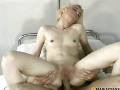 Anal golden-haired copulates lad
