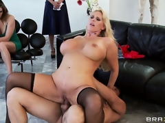 Wicked slut can't live without being drilled from behind, wazoo up hide and wide