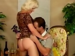 Older bitch Kate receives drilled almost many positions after giving a blowjob