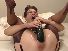 Non-professional wife fisted increased by fucked close by a biggest vibrator
