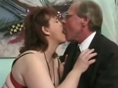 Grown up brunette Jenny Joyce receives her pussy licked and drilled hard